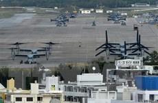 Nhật Bản xây đập ngăn nước mới, chuẩn bị di dời căn cứ Futenma