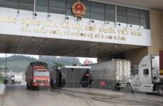 Trên 40.000 tấn quặng sắt đã được xuất qua cửa khẩu Lào Cai
