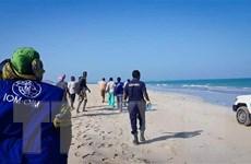 Cứu được 16 người trong vụ đắm thuyền ngoài khơi Djibouti