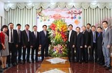 Chủ tịch UBND thành phố Hà Nội chúc Tết Tổng hội thánh Tin lành