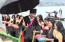 Độc đáo Lễ hội gội đầu truyền thống ngày 30 Tết tại Sơn La