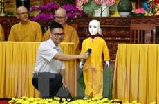 Ra mắt Robot chú Tiểu Giác Ngộ 4.0 giải đáp câu hỏi về Phật pháp