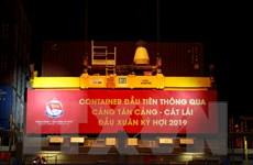 """Tân cảng Sài Gòn phấn đấu """"cán đích"""" 5 triệu TEU hàng container"""