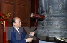 Hình ảnh Thủ tướng dự Lễ hội 230 năm chiến thắng Ngọc Hồi-Đống Đa