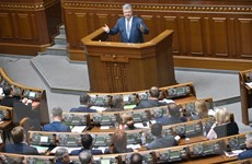 Tổng thống Ukraine cam kết thúc đẩy việc gia nhập EU, NATO