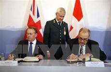 Anh ký thỏa thuận duy trì hoạt động thương mại với Thụy Sĩ hậu Brexit