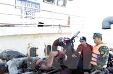 Liên tiếp xử lý việc khai thác cát trái phép trên vùng biển Cần Giờ