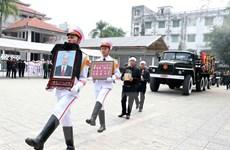 Lời cảm ơn của gia đình nguyên Phó Chủ tịch Quốc hội Nguyễn Phúc Thanh