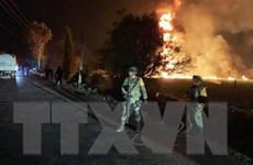 Xảy ra vụ nổ đường ống dẫn nhiên liệu thứ ba tại Mexico