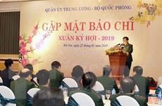 Báo chí góp phần tuyên truyền để hình ảnh Bộ đội Cụ Hồ tỏa sáng