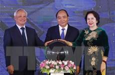 Thủ tướng dự khánh thành tổng kho và bến cảng xăng dầu DKC tại Nghệ An