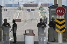 Venezuela tố cáo âm mưu gây bạo loạn ở biên giới với Colombia