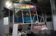 Xe khách đâm nhà chờ tại Cà Mau: Phụ xe có nồng độ cồn cao