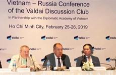 Hội thảo Việt-Nga 'Hợp tác quốc tế trong một thế giới biến động'