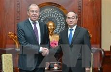 Thúc đẩy quan hệ giữa Thành phố Hồ Chí Minh và các địa phương của Nga