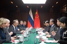 Nga, Trung Quốc cam kết tăng cường trao đổi thông tin chiến lược