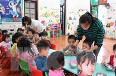 Bắc Ninh: Làm rõ nghi vấn thịt có sán tại trường mầm non Thanh Khương