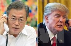 Tổng thống Trump điện đàm với Tổng thống Hàn Quốc về kết quả hội nghị