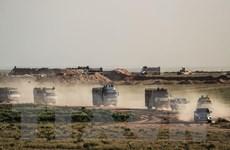 SDF tấn công vào nơi cố thủ cuối cùng của IS tại Đông Syria