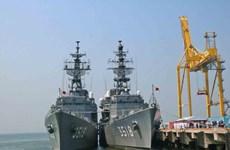 Tàu Lực lượng Tự vệ trên biển Nhật Bản thăm thành phố Đà Nẵng