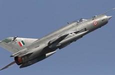 Rơi máy bay chiến đấu MiG-21 của lực lượng không quân Ấn Độ
