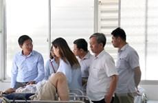 Tài xế trong vụ xe khách bị lật tại Bình Thuận đã tử vong