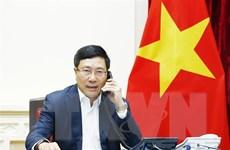 Bộ trưởng Bộ Ngoại giao điện đàm về công dân Đoàn Thị Hương