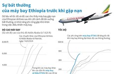 Sự bất thường của máy bay Ethiopia trước khi gặp nạn