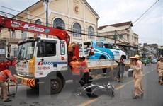 Lâm Đồng: Đối tượng nghi 'ngáo đá' lái ôtô gây tai nạn liên hoàn