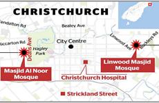 New Zealand gọi vụ xả súng 2 đền thờ Hồi giáo là tấn công khủng bố