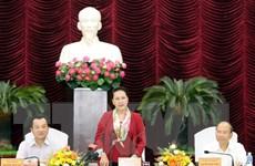 Chủ tịch Quốc hội Nguyễn Thị Kim Ngân làm việc tại tỉnh Bình Thuận