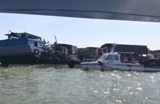 TP.HCM: Chìm tàu trên biển Cần Giờ, thuyền trưởng mất tích