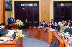 Thủ tướng: Xây dựng khu vực phòng thủ vững chắc trong tình hình mới