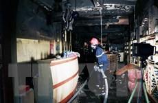 Đà Nẵng: Dập tắt vụ cháy căn hộ ở Khu chung cư Nam cầu Trần Thị Lý