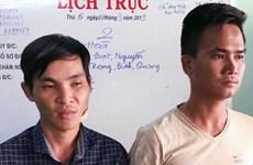 Đồng Nai: Bắt 2 đối tượng dùng hung khí đâm bị thương công an xã