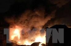 Đà Nẵng: Cháy nhà hai tầng trong đêm, hai người thoát nạn