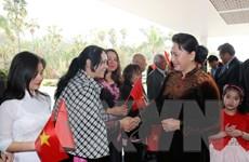 Hình ảnh hoạt động của Chủ tịch Quốc hội Nguyễn Thị Kim Ngân tại Maroc