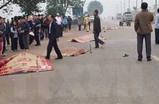 Khởi tố hình sự vụ xe khách đâm vào đoàn đưa tang tại Vĩnh Phúc