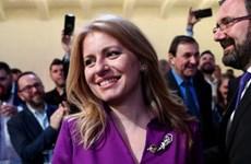 Bà Zuzana Caputova được bầu làm nữ Tổng thống đầu tiên của Slovakia