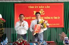 Tỉnh ủy Đắk Lắk chỉ định vị trí Bí thư Thành ủy Buôn Ma Thuột