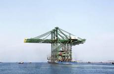 Doosan Vina xuất cẩu container RMQC 'Made in Vietnam' sang Ấn Độ