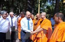 Thủ tướng: Chư tăng, phật tử Nam tông Khmer góp phần xây dựng đất nước