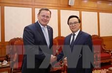 Trưởng Ban Đối ngoại Trung ương tiếp Thủ hiến bang Thüringen của Đức