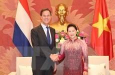 Chủ tịch Quốc hội hội kiến Thủ tướng Vương quốc Hà Lan Mark Rutte