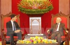 Tổng Bí thư, Chủ tịch nước tiếp Thủ tướng Hà Lan Mark Rutte
