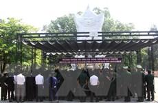 Lễ viếng đặc biệt Trung tướng Đồng Sỹ Nguyên ở Nghĩa trang Trường Sơn