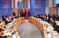 Hội nghị lãnh đạo Trung Quốc-EU ra tuyên bố chung