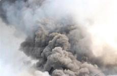 Bình Dương: Đang cháy lớn tại khu công nghiệp Sóng Thần 2
