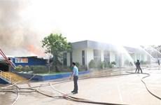 Thống kê thiệt hại sau vụ cháy tại Khu công nghiệp Sóng Thần 2