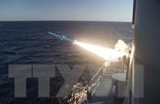 Tập trận hải quân chung Medusa-8 trên Địa Trung Hải